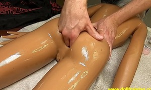 Hot Massage (Sex Doll Maintenance) [ movie dolltraining.com]